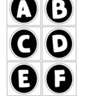 Boggle Letters