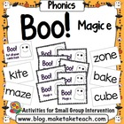 Boo! Magic e
