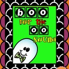 """Boo for the ""OO"" sound!""  Halloween activity"