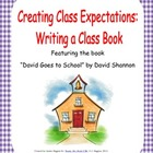 Book Activity: David Goes to School