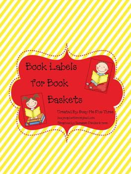 Book Basket Labels for the Primary Classroom Library