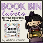 Book Bin Chevron Labels {for your classroom library}