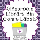 Book Bin Labels {FREEBIE}