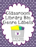 Book Bin Labels FREEBIE!