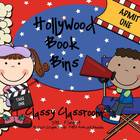 Book Bin Labels ~Hollywood Theme~~Editable