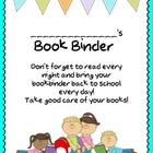Book Binder Cover