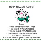 Book Blizzard Snowflake Center