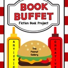 &quot;Book Buffet&quot; Fiction Book Report/ Book Project