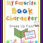 Book Character Dress UP: Right to Read Week FUN!