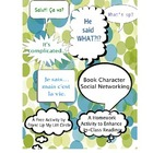 Book Character Social Networking-HS English/Foreign Langau