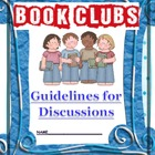 Book Clubs or Literature Circles: Comprehensive Unit for I