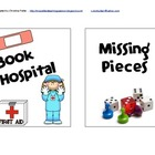 Book Doctor &amp; Missing Pieces Sign