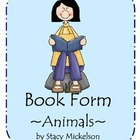 Book Form - Animals