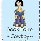 Book Form - Cowboy