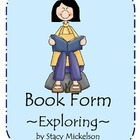 Book Form - Exploring