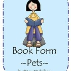 Book Form - Pets