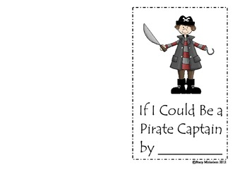 Book Form - Pirates