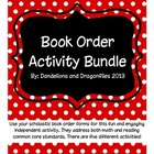 Book Order Activity Bundle