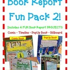 Book Report FUN PACK 2! 4 Projects! Float- Puppet Theater-