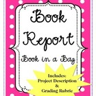 Book Report  - Book in a Bag