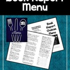"""Book Report Menu"" Kit"