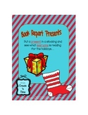 Book Report Presents Holiday Book Sharing Activity for ANY novel