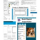 Book Report Project Packet 6 Formats