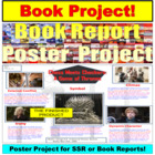 Book Report Project for PPT Display and Print Off