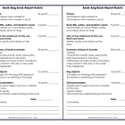 Book Report Rubric - Book in a Bag