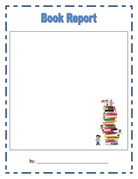 Book Report Template no. 2