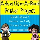 Book Report for Fiction Book with CCSS - Advertise-A-Book-Poster