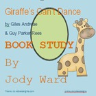 Book Study Giraffe's Can't Dance Classroom Activities Worksheets