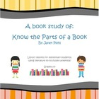 Book Study - Know the Parts of a Book - Library Lessons