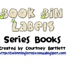 Book bin labels for series books -- No background