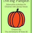 "Book of the Month Activites for Children with Autism- ""Big"