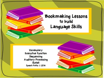 Bookmaking Lessons: Speech & Language Therapy