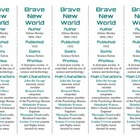 Bookmarks Plus: Brave New World edition--Handy Little Read