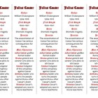 Bookmarks Plus: Julius Caesar edition--Handy Little Reading Aid!