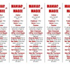 Bookmarks Plus: Maniac Magee edition--A Handy Little Reading Aid!
