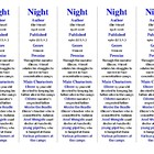 Bookmarks Plus: Night edition--A Handy Little Reading Aid!
