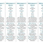Bookmarks Plus: Shakespeare's Secret--A Handy Little Reading Aid!