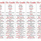 Bookmarks Plus: The Crucible edition--A Handy Little Reading Aid!