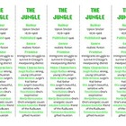 Bookmarks Plus: The Jungle edition--Handy Reading Aid!