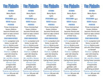 Bookmarks Plus: The Pinballs edition--A Handy Little Reading Aid!