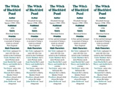 Bookmarks Plus: The Witch of Blackbird Pond edition--Handy