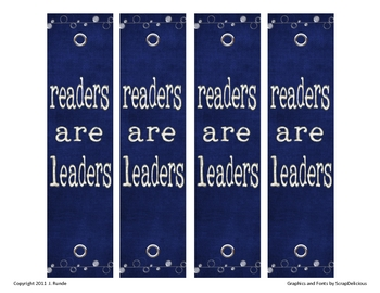 Bookmarks - Readers are Leaders