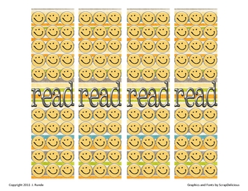 Bookmarks - Reading Makes Me Smile