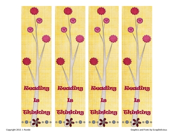 Bookmarks - Reading is Thinking