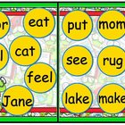 Bookworm Buddy Noun or Verb File Folder Game