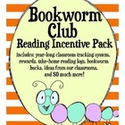 Bookworm Club Reading Incentive Ideas Pack